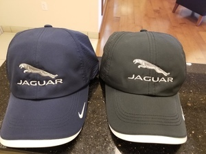 Jaguar or Land Rover Nike Hats