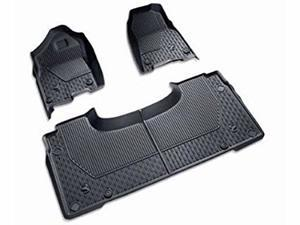 2019 RAM 1500 (DT) All-Weather Mat Kits - Black Quad Cab®