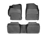Camry WeatherTech Floor Liners 2012-2014 Model Black Front & Rear Set
