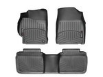 Camry WeatherTech Floor Liners 2012-2014 Model Black Front & Rear Set