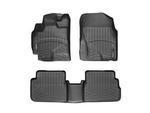 Corolla WeatherTech Floor Liners 2009-2013 Model Black Front & Rear Set