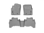 4Runner WeatherTech Floor Liners 2010 & Up Model Gray Front & Rear Set