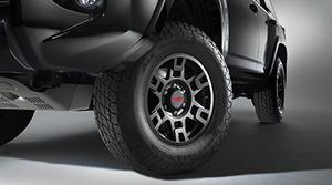 """TRD 4Runner Black Matte 17"""" Alloy Wheel"""