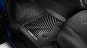 Toyota Tacoma Crew Cab 3PC Black All-Weather Floor Liner 2016 Model