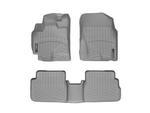 WeatherTech Floor Liners 2009-2013 Model Grey Front & Rear Set