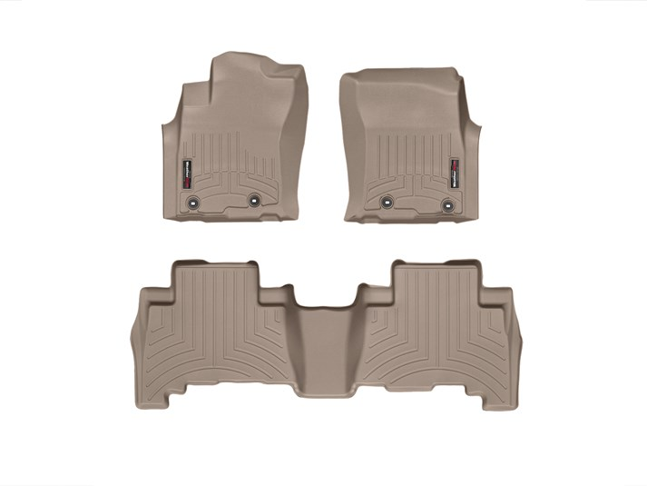 4Runner WeatherTech Floor Liners 2010 & Up Model Tan Front & Rear Set