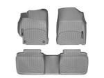 Camry WeatherTech Floor Liners 2012-2014 Model Gray Front & Rear Set