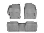 Camry WeatherTech Floor Liners 2012-2014 Model Gray Front & Rear Set