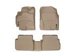 Corolla WeatherTech Floor Liners 2009-2013 Model Tan Front & Rear Set
