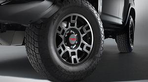 Trd 17-In Matte Black Alloy Wheel