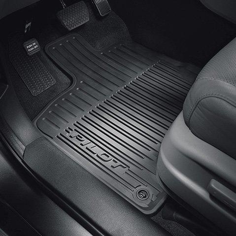 Floor Mats, All-Season (Low Wall)(Black)