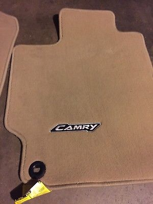 Floor Mats, Carpet, Set Of Four, Flaxen (FINAL SALE, NO RETURN)