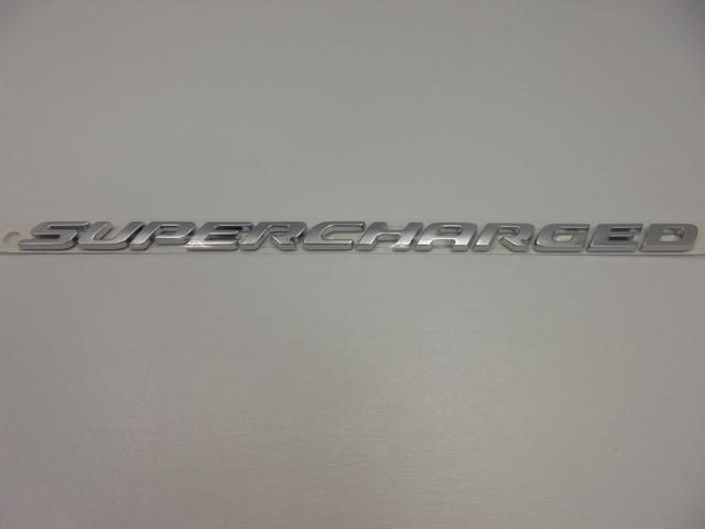 Nameplate-Supercharged - Mopar (68239549AA)