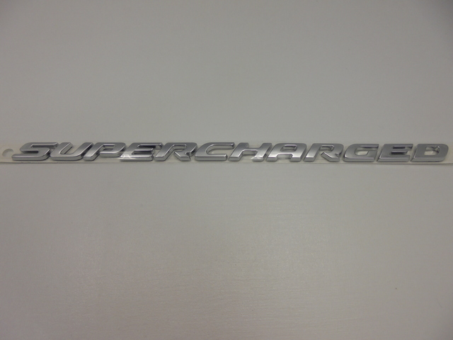 Nameplate-Supercharged