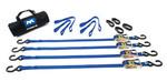 Mac's Custom Tie Downs ATV Motorcycle Bike Trailer Ratchet Strap Kit