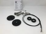 11-14 Dodge Charger New Black Hood Pin Kit Set Of 2 Mopar Logo Factory OEM