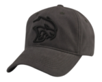 New Dodge Hellcat Challenger Twill Cap Gray & Black Baseball Hat One Size Mopar