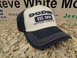 New Dodge Baseball Hat Cap Ballcap Navy Dodge Motor One Size Fits Most OEM
