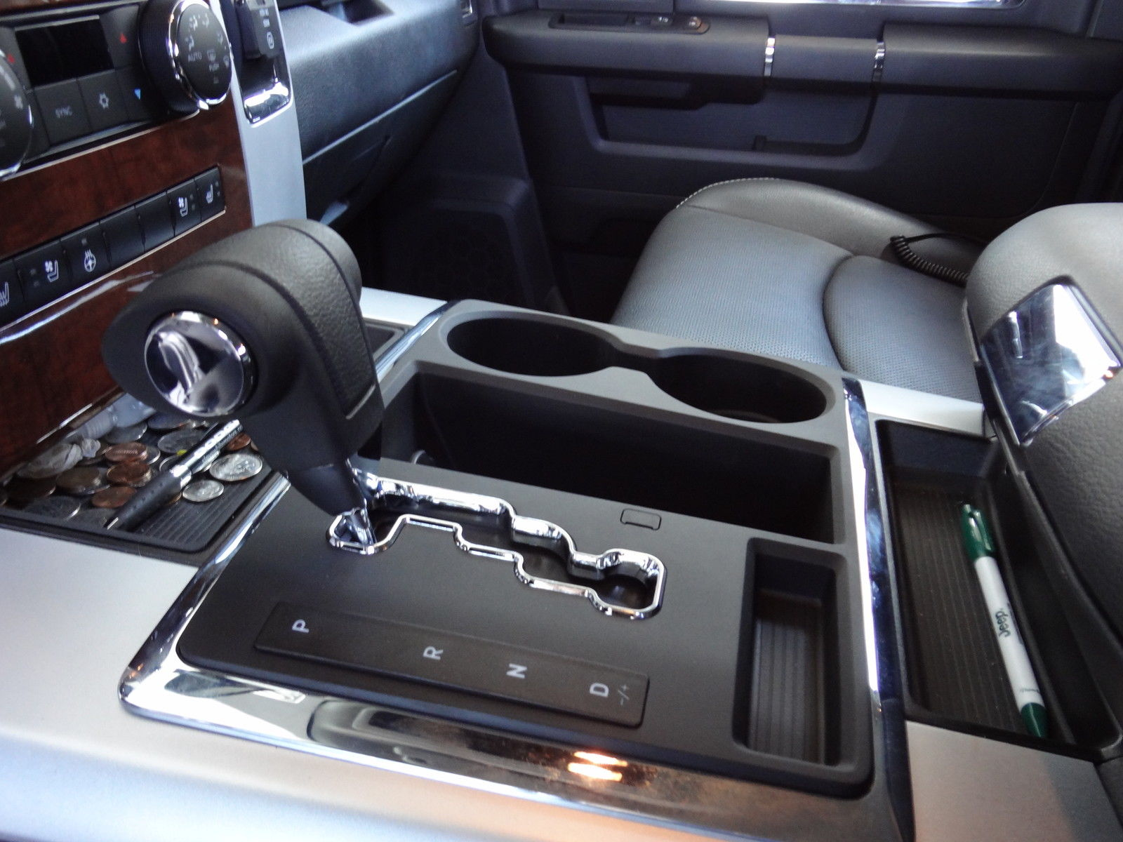 2010-2012 DODGE RAM 68RFE CENTER CONSOLE SHIFTER CONVERSION