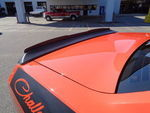 08-14 Dodge Challenger Rear Decklid Spoiler Gurney Flap Wickerbill Matte Black