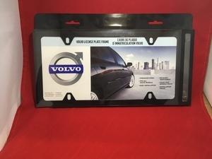 License Plate Frame - Black - Slimline
