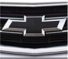 Front & Rear Bowtie Emblem in Black