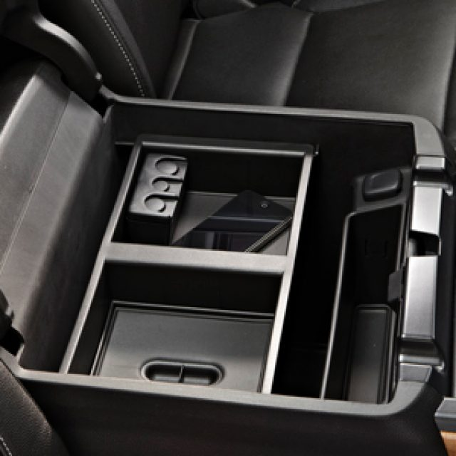 FRONT CENTER CONSOLE ORGANIZER TRAY (Does not fit Cadillac Escalade) w/ D07 CONSOLE Does not fit NEW BODY STYLE 2019 Trucks