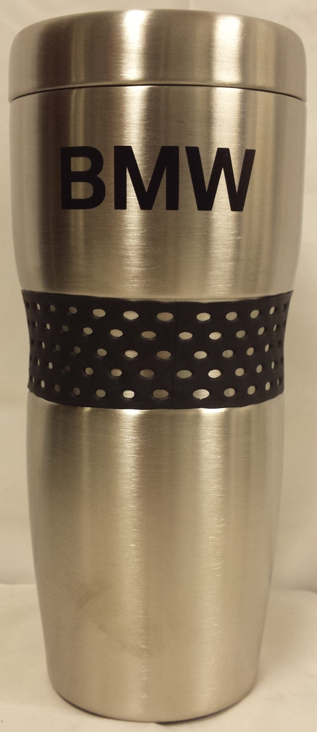 BMW RUBBER GRIP TRAVEL MUG