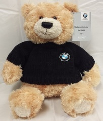 BMW PLUSH HONEY BEAR