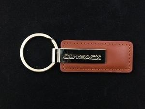 Leather Subaru OutBack Key Tag