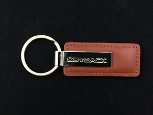 Leather Subaru OutBack Key Tag