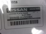 License Plate Frame (Nismo Logo)
