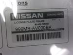 License Plate Frame (Nismo Logo)