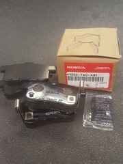 Genuine Honda Rear Brake Pad set
