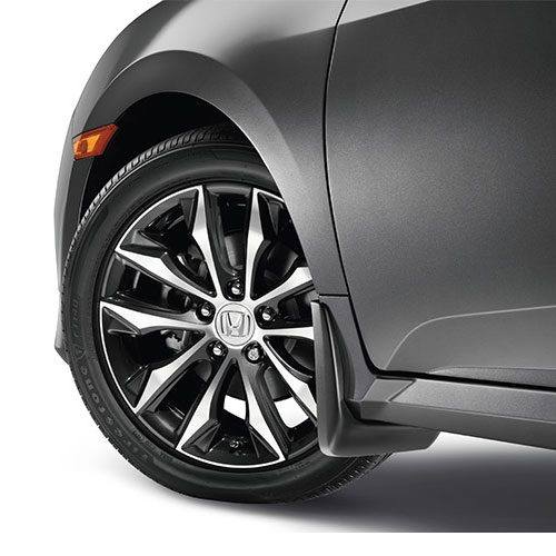 2016 - 17 Civic Sedan Splash Guard Set (Front & Rear)