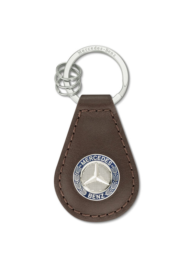 Classic Leather Key Ring