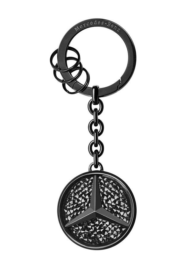 Saint Tropez Swarovski® Crystal Black Edition Key Ring