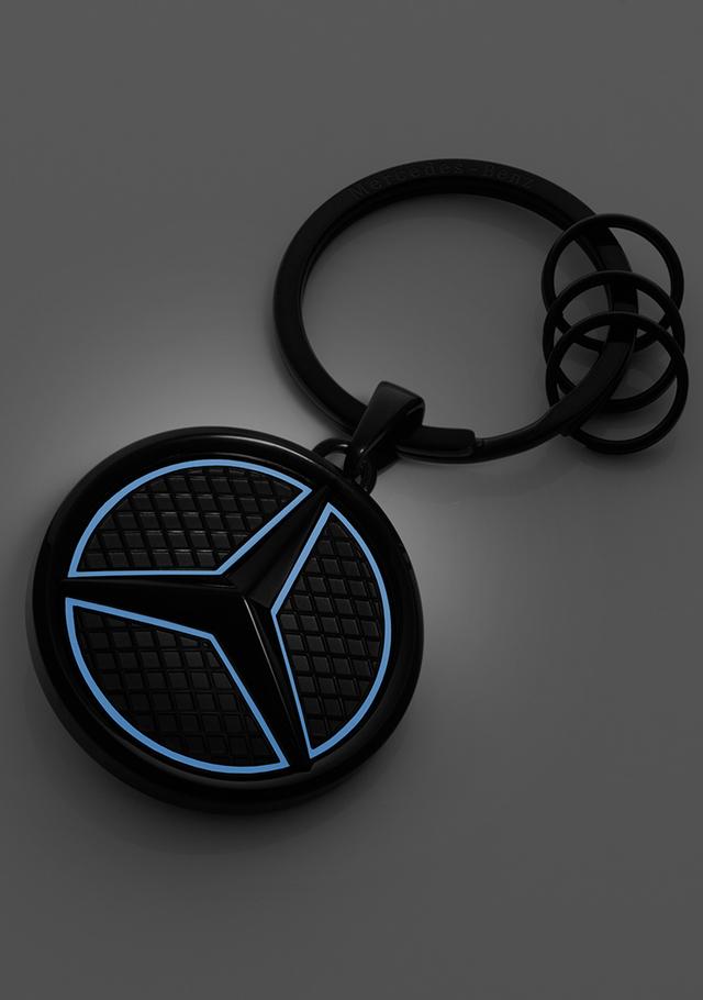 Luminous Star Key Ring - Black Edition