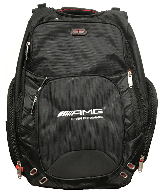 "Mercedes-Benz AMG Driving Performance TSA 17"" Computer Backpack"