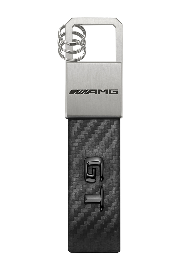 AMG GT Stainless Steel Key Ring