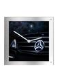 Illuminated Mercedes-Benz Light Up Wall Clock