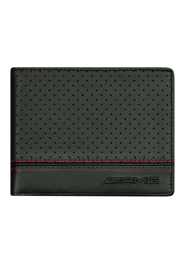 AMG Perforated Leather Wallet