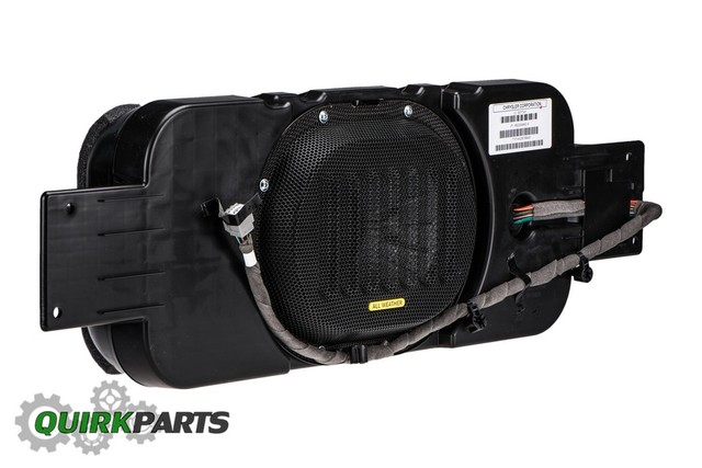 2015-2018 JEEP WRANGLER SUBWOOFER SPEAKER ALPINE OEM MOPAR GENUINE 68223349AD