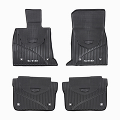 OEM NEW Front & Rear All Weather Floor Mats w/CT6 Logo 16-18 Cadillac 84025489
