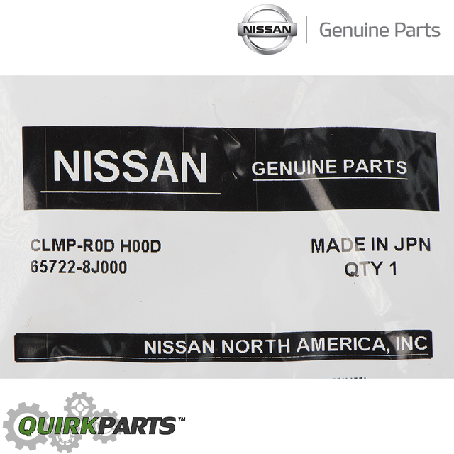 2002-2006 Nissan Altima Hood Prop Rod Retainer Clip Replacement GENUINE OEM NEW