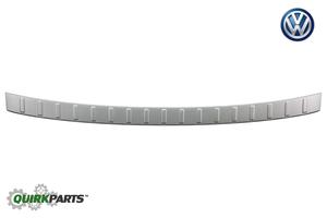 2018-2019 VW Volkswagen Tiguan Rear Brushed Aluminum Look Bumper Protection Plate