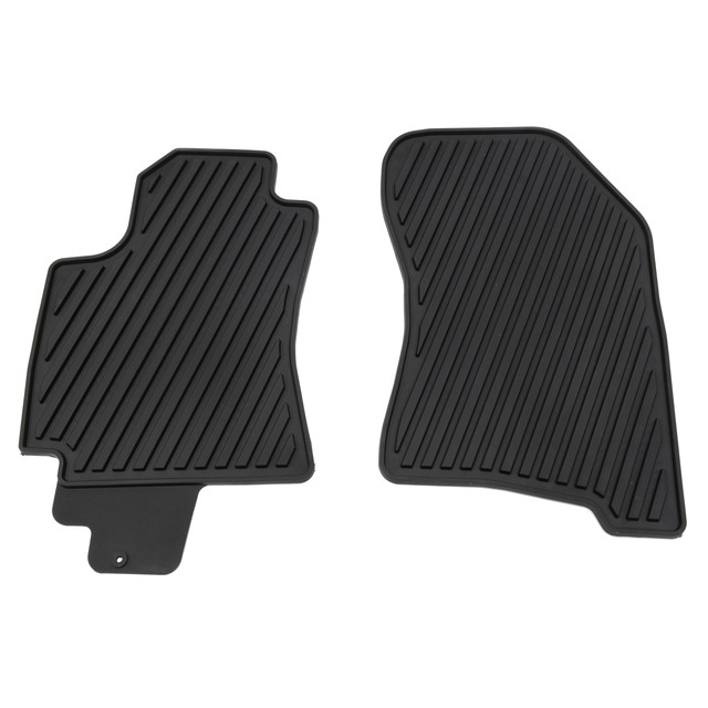 2006-2014 Subaru Tribeca All Weather Rubber Floor Mats Rubber Black OEM NEW