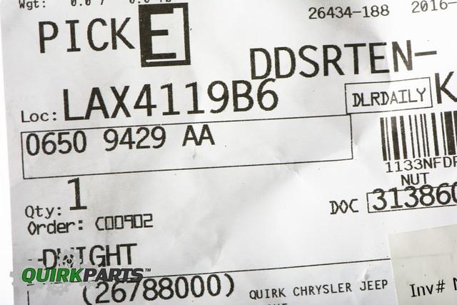 OEM MOPAR REAR DRIVESHAFT TO DIFFERENTIAL NUT DODGE CHALLENGER CHARGER 300