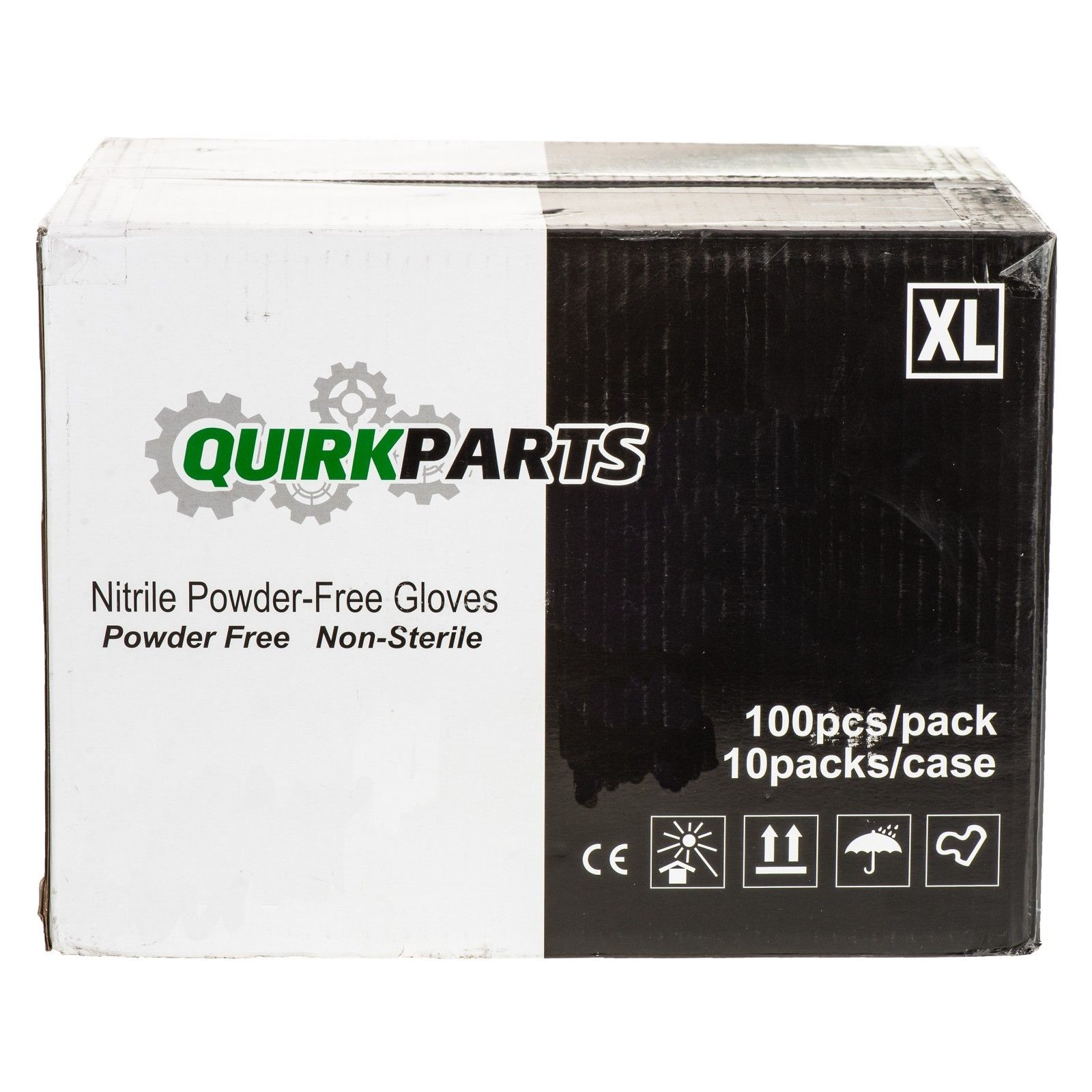 ONE NEW Case Of 1000 Blue Nitrile Powder Free Disposable Non-Sterile XL Gloves