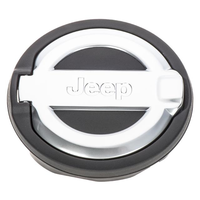 2018 JEEP WRANGLER JL NEW BODY STYLE FUEL FILLER DOOR CAST ALUMINUM OE NEW MOPAR